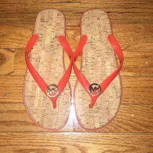 Michael Kora flip flops